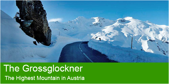 The Grossglockner - the highest mountain in Austria